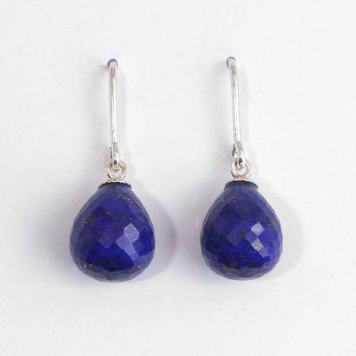 Ohrhänger 925er Silber mit Lapis Lazuli