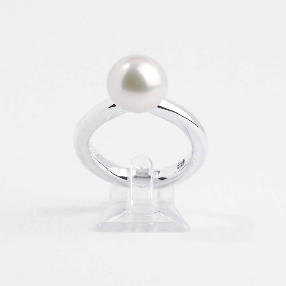 Ring aus 925er Silber mit echter Süßwasserperle