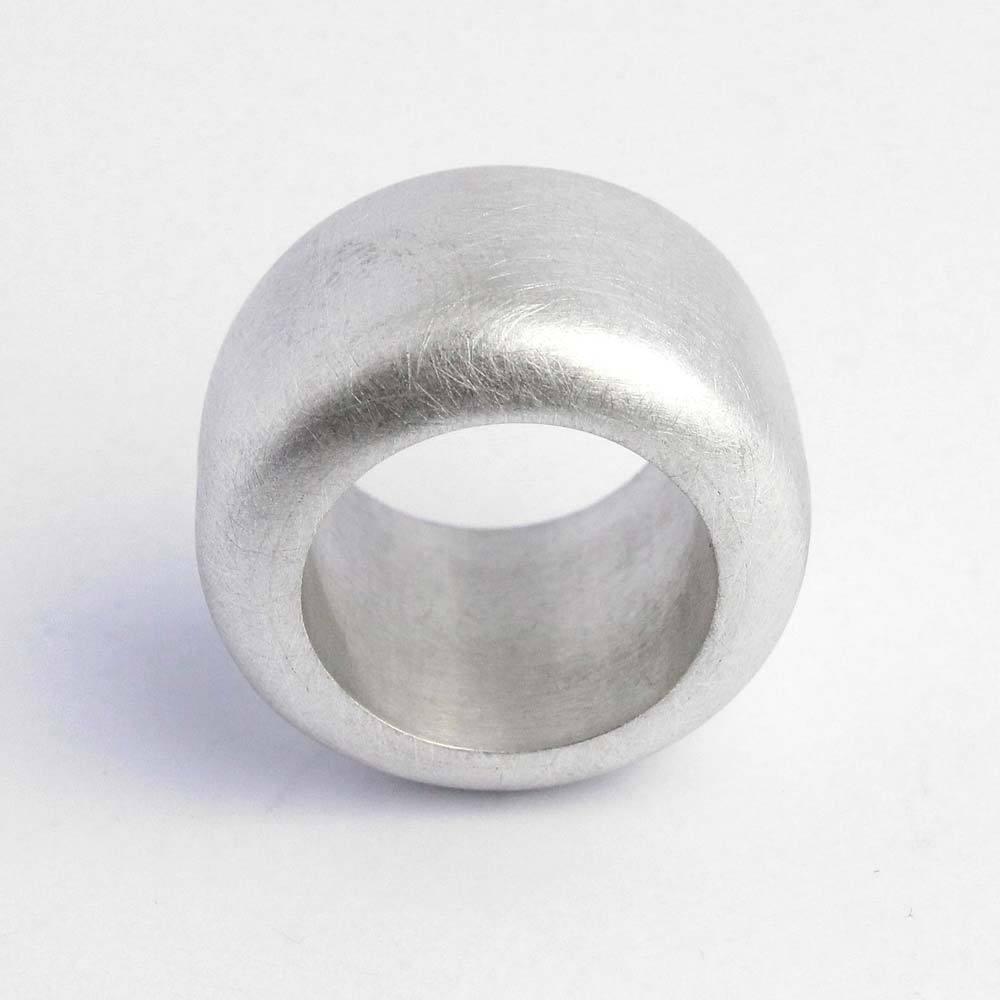 "Ring 925er Silber ""Extrabreit"" mattgebürstet"